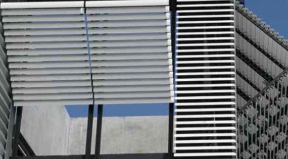 CILIUM – Système de protection solaire dynamique en aluminium