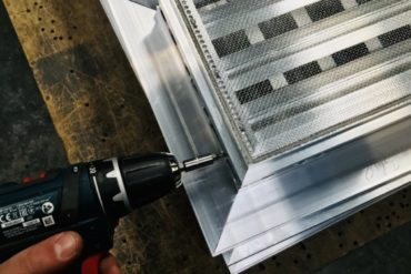FABRICATION GRILLE VENTILATION